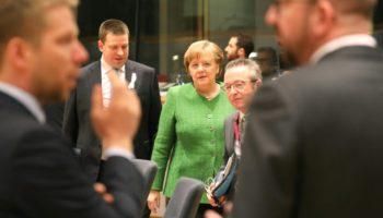 CDU, Politik,Brüssel, Angela Merkel, EU-Gipfel,Schutzzöllen ,Stahl ,Aluminium