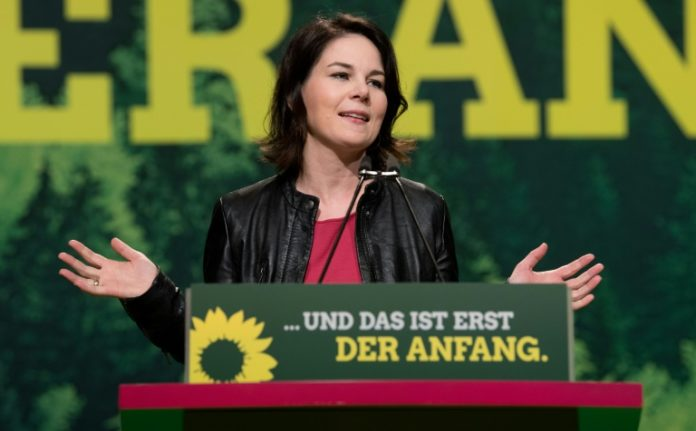 Grünen,Union ,SPD ,News,Politik,Koalitionsvertrag,GroKo,Annalena Baerbock