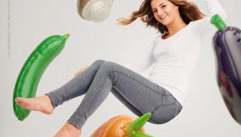 Werbung Bild Emma Schweiger Vegan ist nicht schwer Ernährung Celebrities Lebensmittel Panorama People Los Angeles / Stuttgart
