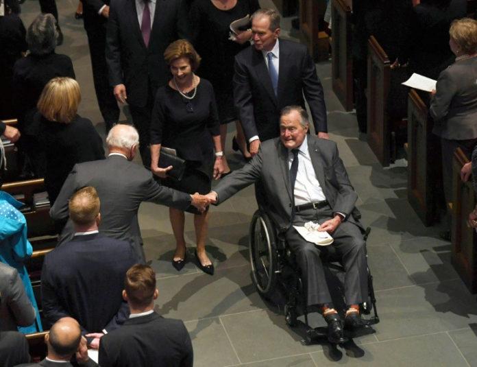 Präsident, George H.W. Bush,Gesundheit,Nachrichten, Houston,Texas