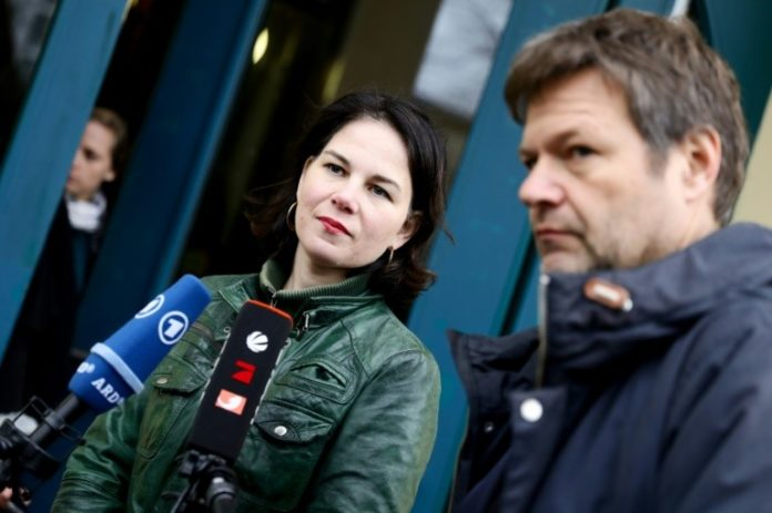 Grundsatzprogramm,Annalena Baerbock,Robert Habeck,Politik,Nachrichten