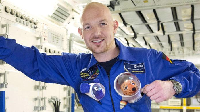 Astronaut ,Alexander Gerst ,Raumschiff,ISS,News,Nachrichten,,Sojus-Kapsel,All