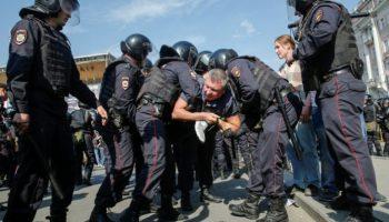 Proteste in Moskau,Russland,Präsident, Wladimir Putin ,OVD,Nachrichten