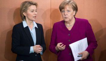 Bundeswehrtagung,Berlin,Politik,Nachrichten, Ursula von der Leyen,Angela Merkel