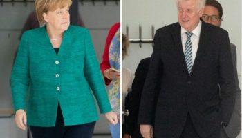CDU, CSU,CDU und CSU,Politik,München,Flüchtlingspolitik,Horst Seehofer,Angela Merkel