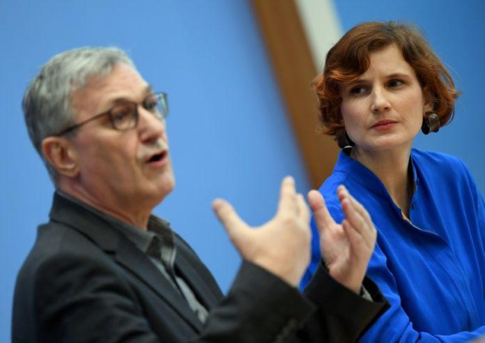 Leipziger Parteitag,Leipzig,Politik,Nachrichten,Katja Kipping,Bernd Riexinger