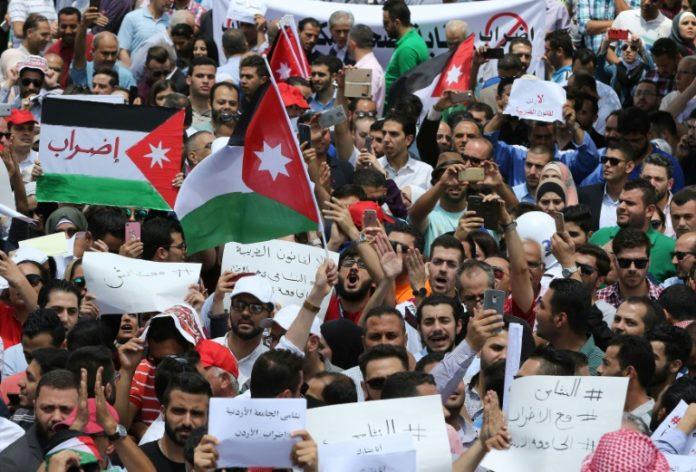 Jordanien,Protest in Amman,Nachrichten,Abdullah II. ,Ausland,Außenpolitik