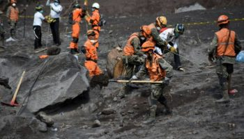 Vulkanausbruch in Guatemala,Guatemala,Ausland,Nachrichten,Feuervulkan,