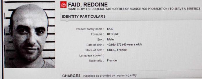 Filmreifer Gefängnisausbruch,Frankreich,Haftbefehl,Interpol,Redoine Faïd,Nachrichten