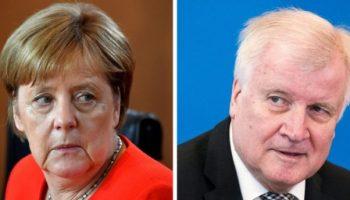CDU und CSU,Bundeskanzlerin ,Angela Merkel ,Flüchtlingspolitik , Brüssel, EU-Gipfel,Horst Seehofer ,München