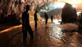 Rettungseinsatz für Jungen in Höhle,Thailand,Nachrichten,Rettungseinsatz,Tham-Luang-Höhle