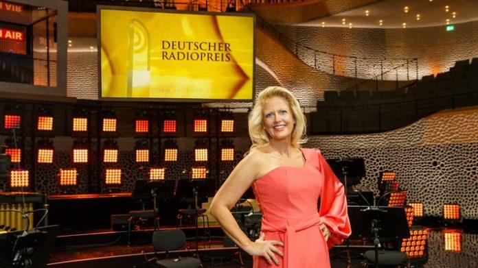 Deutscher Radiopreis 2018, Celebrities, Auszeichnung, Radio, Medien / Kultur, Barbara Schöneberger, Medien, People, Bild, Hamburg