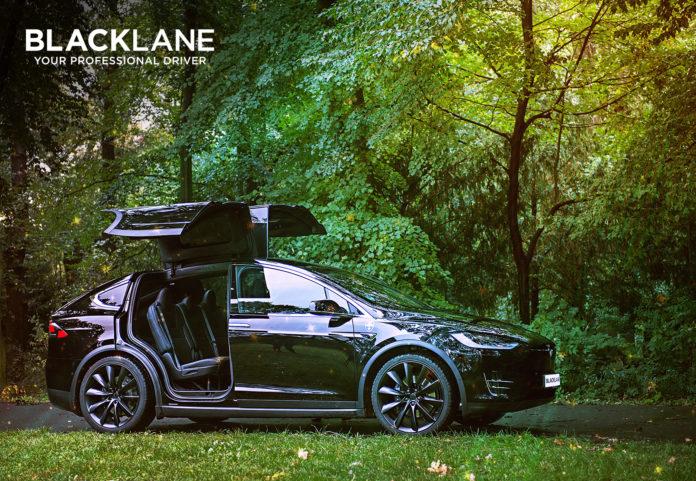 Chauffeur, Gästelimousine, Tesla, Blacklane, Elektroautos, Geschäftsreisen, zero carbon, GBTA, CSR,News,Urlaub,Tourismus