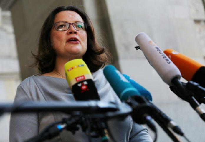 Andrea Nahles,Politik,Berlin,Nachrichten,Hartz-IV,Sanktionen,Job-Center,Thomas Kutschaty