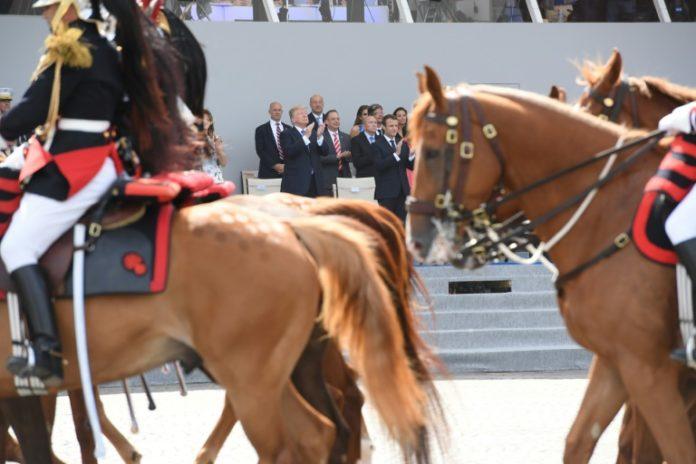Präsident, Donald Trump,Militärparade,Weiße Haus,Rob Manning,Nachrichten,Paris