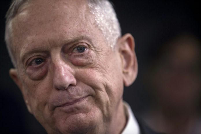 James Mattis, Politik, Außenpolitik, USA, USA erhöhen Druck,Nordkorea,Washington, Ausland