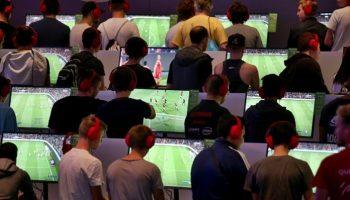 Gamescom,Netzwelt,Medien,News,Computer,Telekommunikation, Köln,Messe, Ausstellung, Freizeit, Unterhaltung, Dorothee Bär,Gamescom-Messe