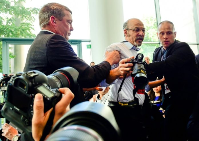 Fotograf ,Pressekonferenz,Präsident, Recep Tayyip Erdogan,Berlin,Nachrichten,Politik,Adil Yigit
