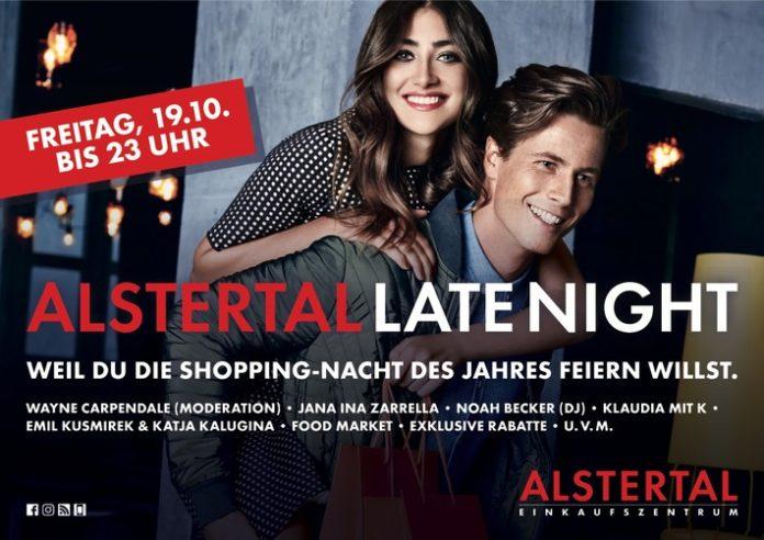 Celebrities, People, Alstertal-Einkaufszentrum, Late Night Shopping Party, Handel, AEZ, Freizeit, Panorama, Bild, Veranstaltung, Shopping, Unterhaltung, Hamburg