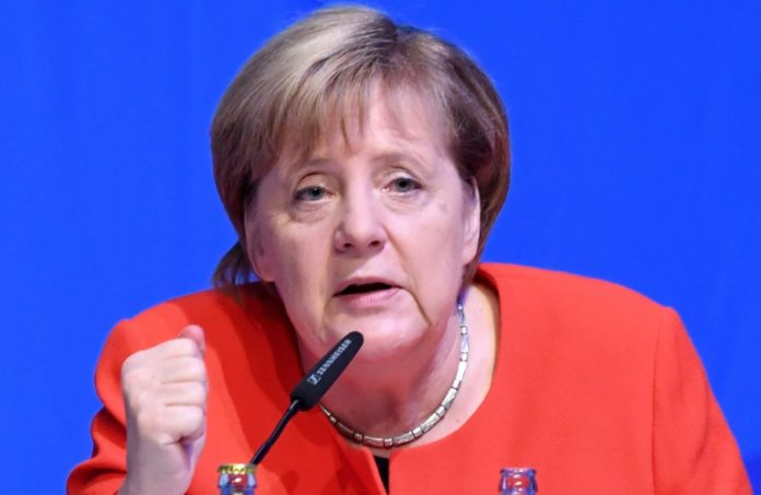Angela Merkel ,Politik,Deutschlandtag,Kiel,Alexander Dobrindt,Jens Spahn,Union zur Einigkeit ,Kanzlerin