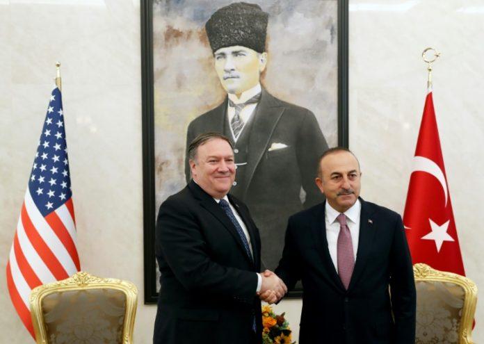 Washington,Mike Pompeo,USA,Ausland,Außenpolitik, Ankara ,US-Sanktionen,Mevlüt Cavusoglu