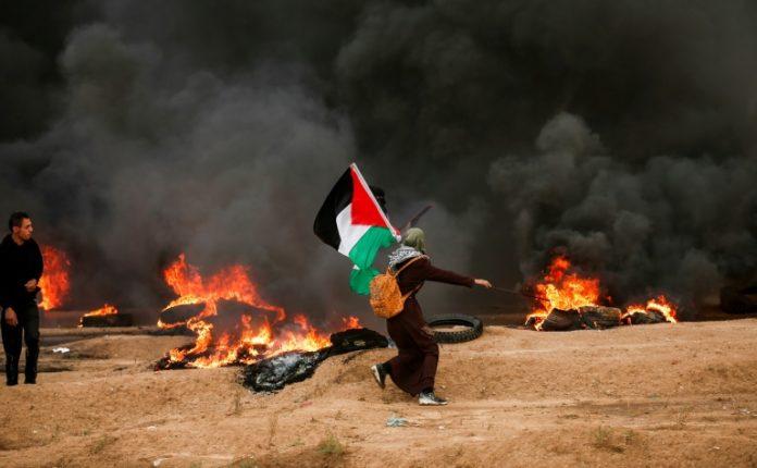 Palästinenser-Protest,Gazastreifen,Israel,Nachrichten,News,Presse,Aktuelles,Ausland