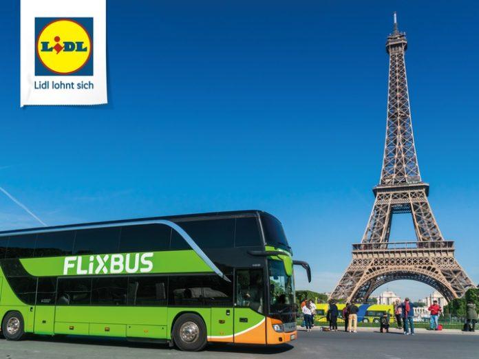 FlixBus, Fernbusreise, Tourismus, Urlaub, Bild, Auto / Verkehr, Tourismus / Urlaub, Wirtschaft, Handel,Lidl Europa