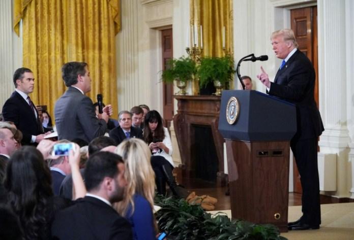 Weißes Haus,CNN,Donald Trump,Nachrichten,News,Presse,Aktuelles,Jim Acosta,Washington