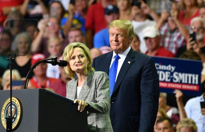 Cindy Hyde-Smith,Präsident ,Donald Trump,Mississippi,Wahlen,Ausland,Außenpolitik,Nachrichten,News,Presse,Aktuelles