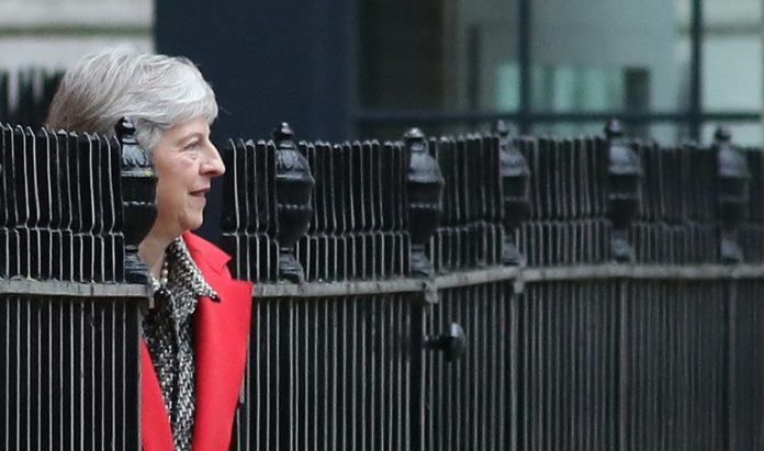 Außenpolitik,Nachrichten,News,Presse,Aktuelles, Brexit-Minister,Theresa May,London