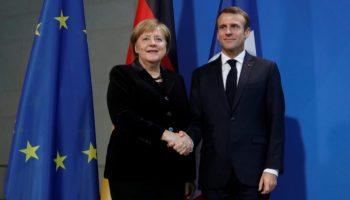Merkel und Macron,Angela Merkel ,CDU,Emmanuel Macron,Europa,EU,Wahlen,Politik,Nachrichten,News,Presse,Aktuelles