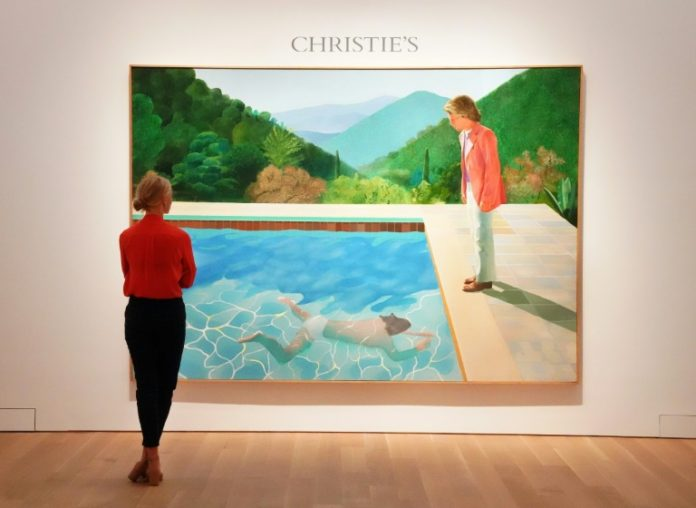 Hockney-Gemälde,Nachrichten,News,Presse,Aktuelles,Malers David,Portrait of an Artist ,Auktionshaus Christie
