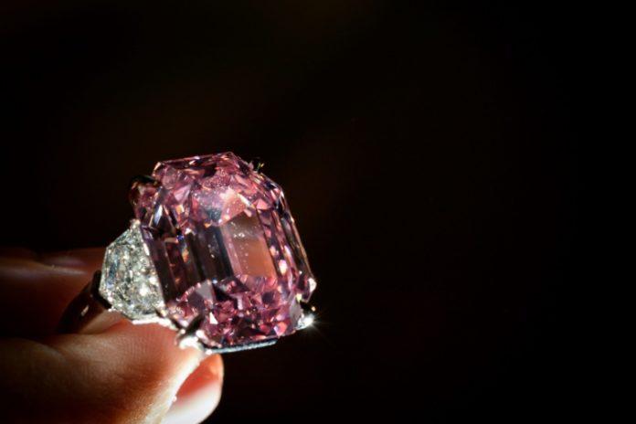 Rosa Diamant ,Pink Legacy,Nachrichten,News,Aktuelles,Presse,Diamant ,Auktionshaus Christie's