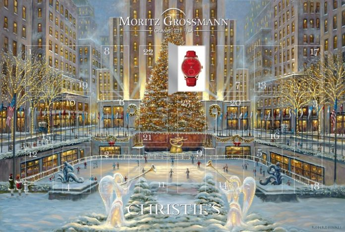 Glashütte, Versteigerung, Kollektion, Auktionshaus Christie's, Lifestyle, Luxusuhr, Online-Auktion, interaktiver Adventskalender, Weihnachten, Jubiläum, E-Commerce, Luxusgüter, Bild, Panorama, Fashion / Beauty