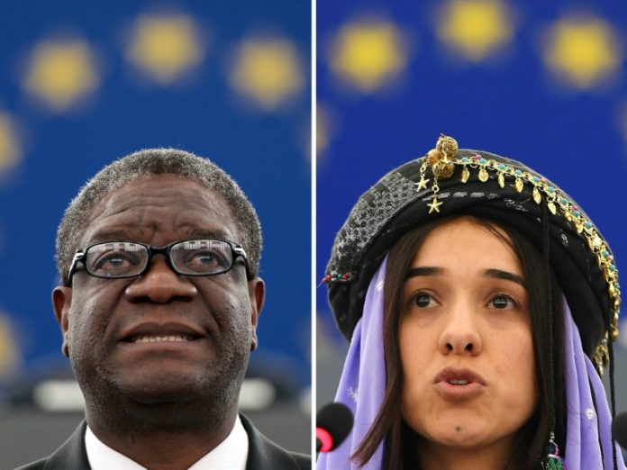 Nobelpreisträger ,Auszeichnungen,Denis Mukwege,Nadia Murad,Oslo ,Friedensnobelpreis, Medizin, Chemie, Physik ,Wirtschaftswissenschaften,Stockholm,News,Presse,Aktuelles,Nachrichten