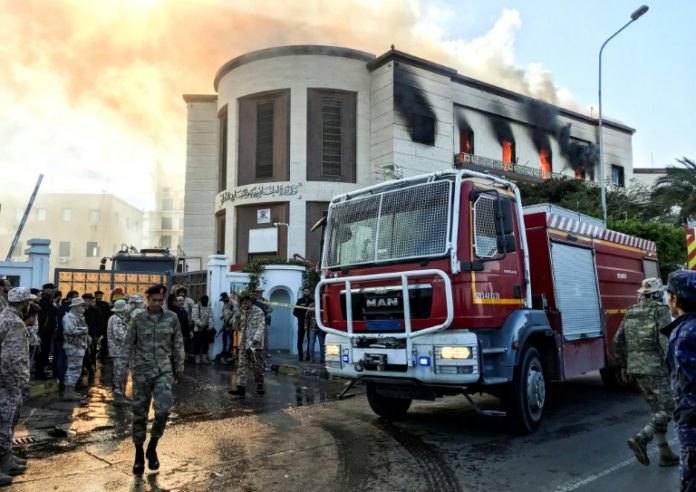 Nordafrika,Tripolis,Dschihadistenmiliz Islamischer Staat,IS,Tarak al-Dawass,Autobombe,News,Presse,Aktuelles