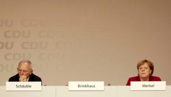 CDU,Politik,Nachrichten,News,Presse,Aktuelles,Annegret Kramp-Karrenbauer,Wolfgang Schäuble,Berlin
