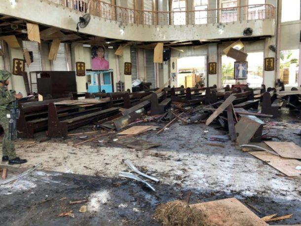 Philippinen,Bombenanschlag,Kirche,News,Presse,Aktuelles,