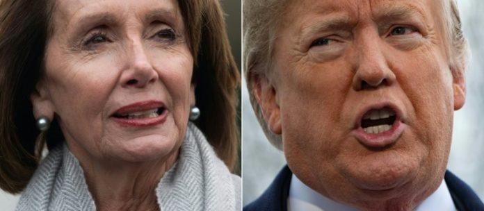 Präsident, Donald Trump,Shutdown,Ausland,Außenpolitik,Nancy Pelosi ,News,Presse,Aktuelles,Nachrichten