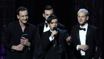 The 1975,Brit Awards,Pop-Rock-Band,Musik,Auszeichnung,Medien, Kultur,News,Nachrichten