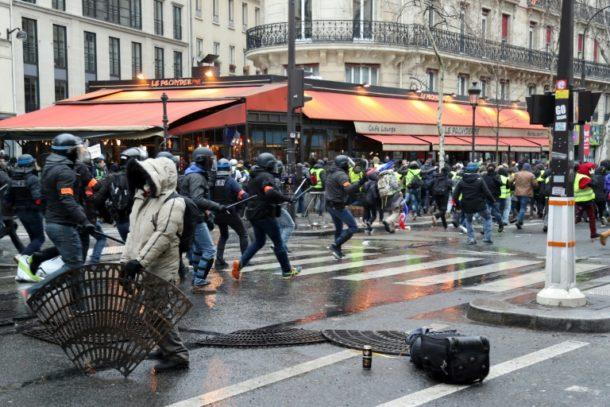 Gelbwesten,Paris,FrankreichAusland,Außenpolitik,News,Presse,Aktuelles,Nachichten,Place de la République