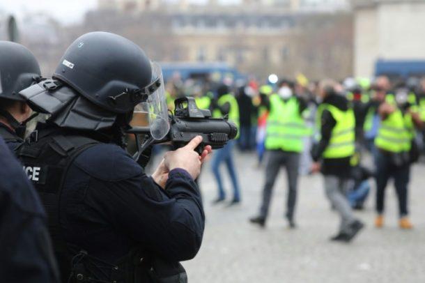 Polizeigewalt,Gelbwesten,Protesttag FrankreichAusland,Außenpolitik,News,Presse,Aktuelles,Nachichten