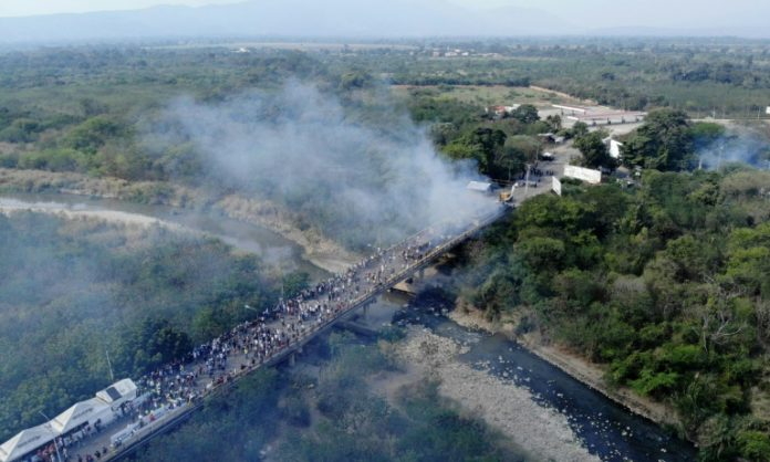 Venezuela ,Kolumbien,Hilfslieferungen