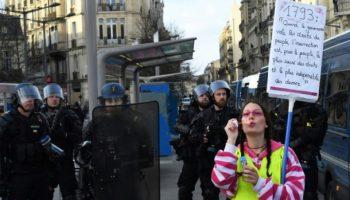 Frankreich,Gelbwesten,Protesttag