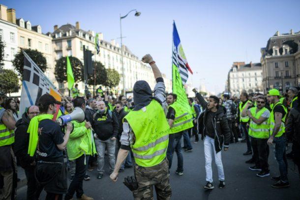 Emmanuel Macron,Gelbwesten,Frankreich