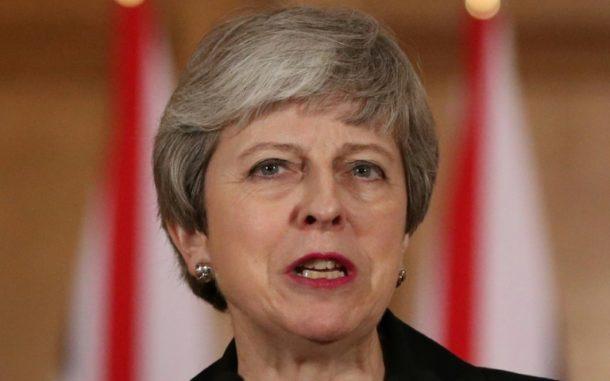 Brexit-Abkommen,Außenpolitik,Theresa May