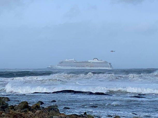 Norwegen,Viking Sky,Kreuzfahrtschiff