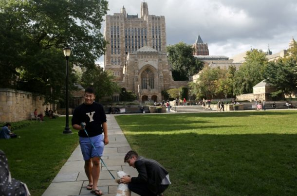 Yale,Campus,Yale-Universität