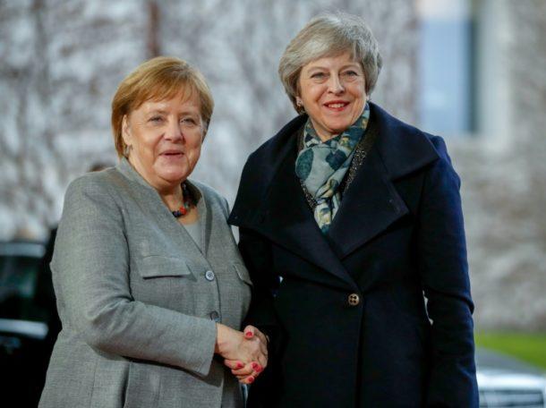Theresa May,Berlin,Angela Merkel