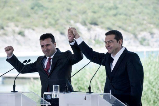 Nordmazedonien,Alexis Tsipras,Außenpolitik